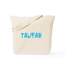 Jaliyah Faded (Blue) Tote Bag