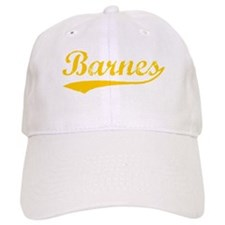 Vintage Barnes (Orange) Baseball Cap