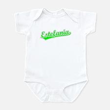 Retro Estefania (Green) Onesie