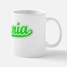 Retro Estefania (Green) Mug