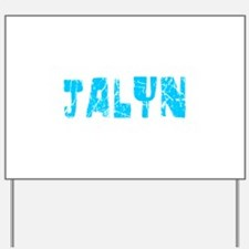 Jalyn Faded (Blue) Yard Sign