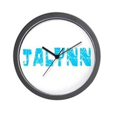 Jalynn Faded (Blue) Wall Clock