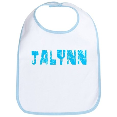 Jalynn Faded (Blue) Bib
