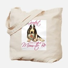 Basset Mom-to-Be Tote Bag