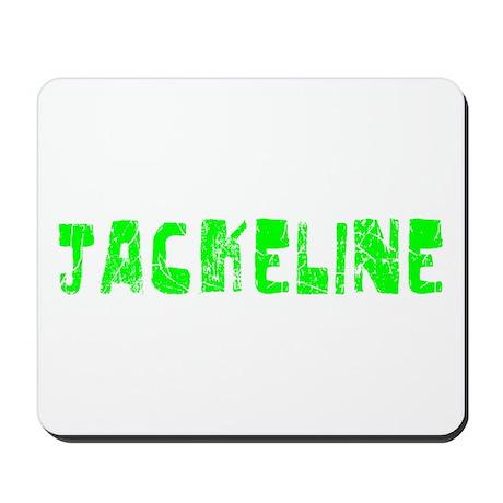 Jackeline Faded (Green) Mousepad