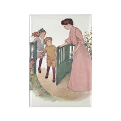 Mother at the Gate Rectangle Magnet (10 pack)