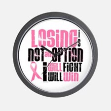 LOSING Is NOT An Option 6.2 (BC) Wall Clock
