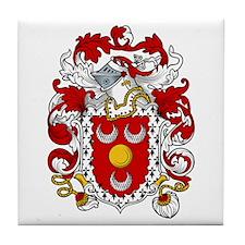 Alden Family Crest Tile Coaster