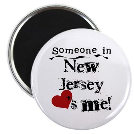 Someone in New Jersey Magnet
