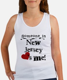 Someone in New Jersey Women's Tank Top