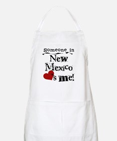 New Mexico Loves Me BBQ Apron