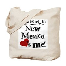 New Mexico Loves Me Tote Bag