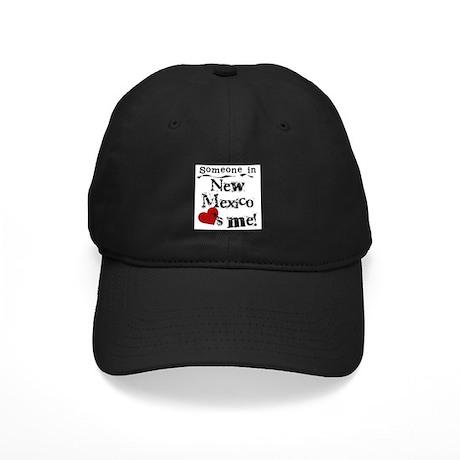 New Mexico Loves Me Black Cap
