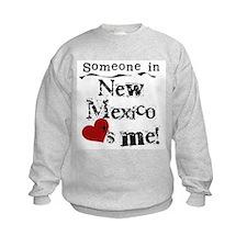 New Mexico Loves Me Sweatshirt