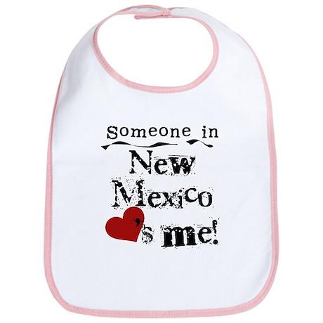 New Mexico Loves Me Bib