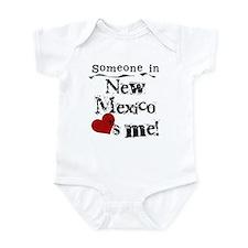 New Mexico Loves Me Infant Bodysuit