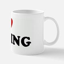 I Love TOOTING Small Small Mug