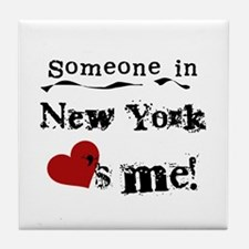 Someone in New York Tile Coaster