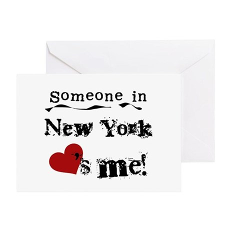 Someone in New York Greeting Card