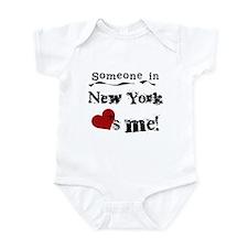 Someone in New York Infant Bodysuit