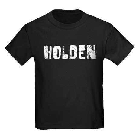 Holden Faded (Silver) Kids Dark T-Shirt