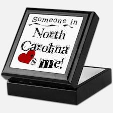Someone in North Carolina Keepsake Box