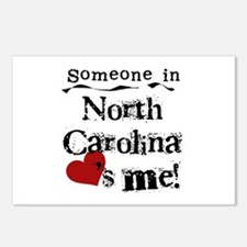 Someone in North Carolina Postcards (Package of 8)