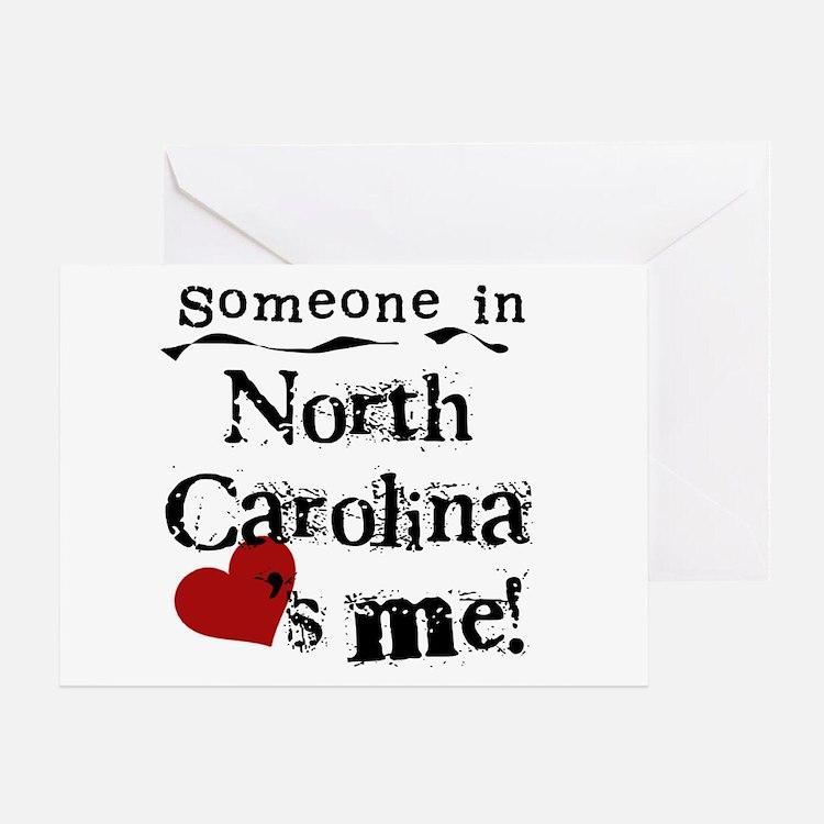 Someone in North Carolina Greeting Card