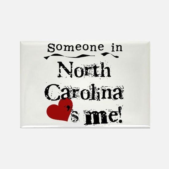 Someone in North Carolina Rectangle Magnet