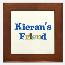 Kieran's Friend Framed Tile
