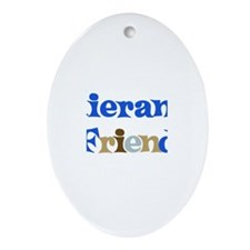 Kieran's Friend Oval Ornament