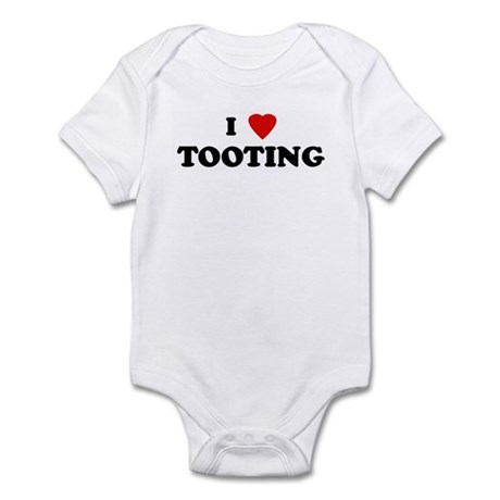I Love TOOTING Infant Bodysuit