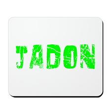 Jadon Faded (Green) Mousepad