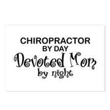 Chiropractor Devoted Mom Postcards (Package of 8)