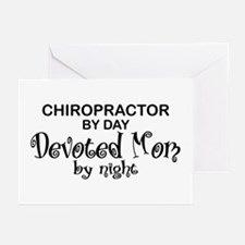 Chiropractor Devoted Mom Greeting Cards (Pk of 10)