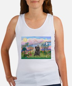 Cloud Angel 2 /Cairn Terrier Women's Tank Top