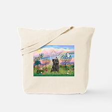 Cloud Angel 2 /Cairn Terrier Tote Bag