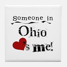 Someone in Ohio Tile Coaster