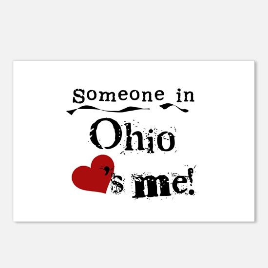 Someone in Ohio Postcards (Package of 8)