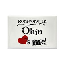Someone in Ohio Rectangle Magnet