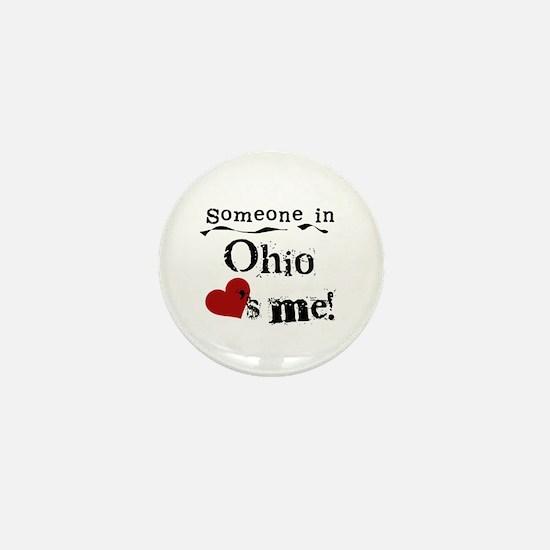 Someone in Ohio Mini Button