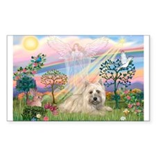 Cloud Angel 2 /Cairn Terrier Rectangle Decal