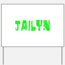 Jailyn Faded (Green) Yard Sign