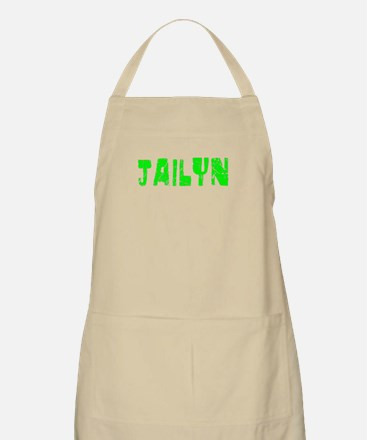 Jailyn Faded (Green) BBQ Apron