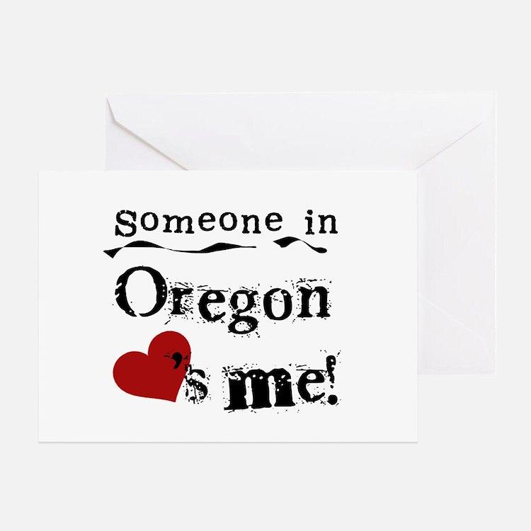 Someone in Oregon Greeting Card