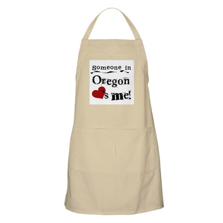 Someone in Oregon BBQ Apron