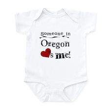 Someone in Oregon Infant Bodysuit
