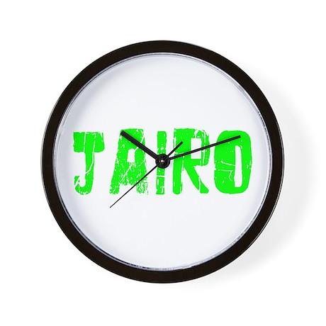 Jairo Faded (Green) Wall Clock