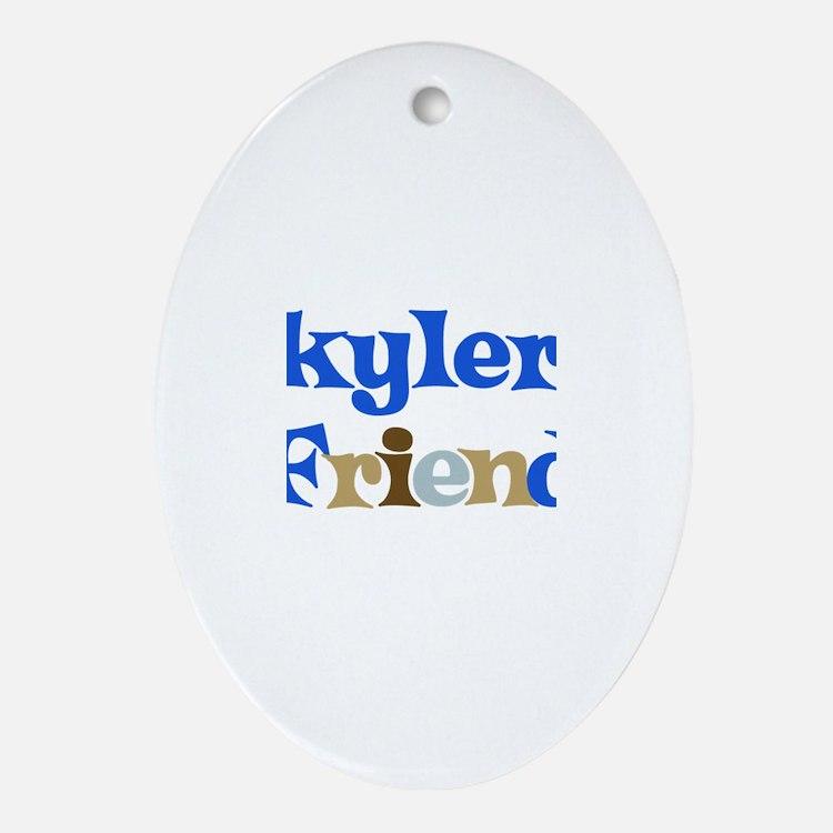 Skyler's Friend Oval Ornament