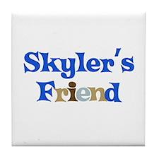 Skyler's Friend Tile Coaster